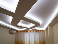LED illumination of a ceiling