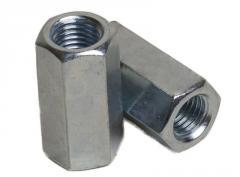 Гайка удлинитель М6 DIN 6334 ЦБ