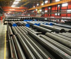 Pipes steel F10-F1420 of GOST 10704-91, F219-F2540