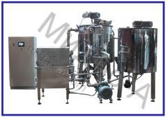 Линия для производства сгущенного молока ТЕК-УПС-СГ