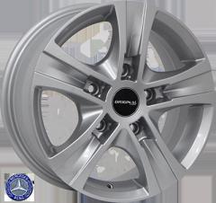 Автомобильные диски Z1108 S 999955012 W6.5 PCD5x160 ET50 DIA65.1