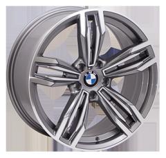 Автомобильные диски 5035 GMF 999995717 W9.5 PCD5x120 ET33 DIA74.1