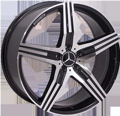 Автомобильные диски BK869 BP 999205505 W8.5 PCD5x112 ET45 DIA66.6