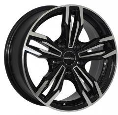 Автомобильные диски Z1070 BMF 999965716 W6.5 PCD5x120 ET25 DIA74.1