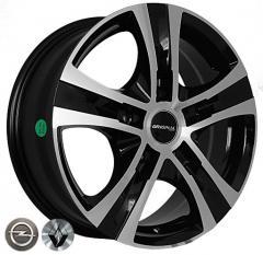 Автомобильные диски Z1108 BMF 999965715 W6.5 PCD5x120 ET45 DIA65.1