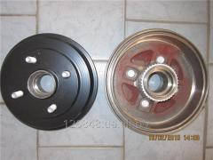 Барабан тормозной задний (два подшипника)  Geely CK с ABS 1403025180