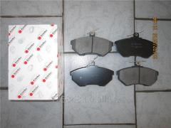 Колодки тормозные передние без ABS Geely CK 3501190106