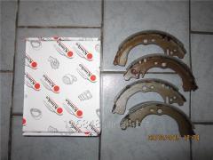 Колодки тормозные задние с ABS Geely CK 1403060180