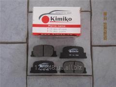 Колодки тормозные задние BYD F3 BYDF3-3502130
