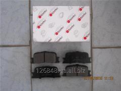 Колодки тормозные задние  Chery Cross Eastar B14 B14-3502080