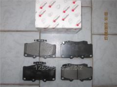 Колодки тормозные передние Great Wall Safe 3501130_40-F00