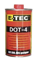 Жидкость тормозная DOT-4 E-TEC 500мл
