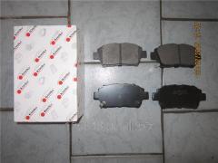 Колодки тормозные передние Geely SL 1061001401