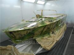 Покраска лодок и катеров в Одессе