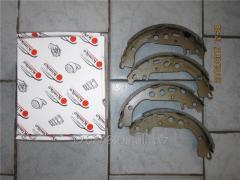 Колодки тормозные задние Geely GC6 1014003351