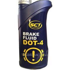 Жидкость тормозная SCT Brake Fluid DOT-4  0,91 л
