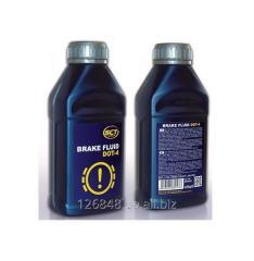 Жидкость тормозная SCT Brake Fluid DOT-4  0.46 л