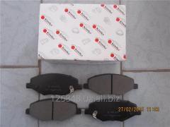 Колодки тормозные передние Chery A13 A13-3501080