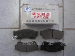 Колодки тормозные передние Chana Benni CV6060-1600