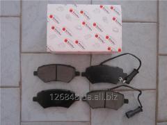 Тормозные колодки передние Chery M11 M11-3501080