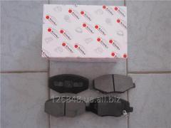Колодки тормозные задние Chery Eastar B11  B11-3502080BA