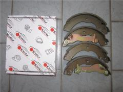 Колодки тормозные задние Chery Jaggi S21 S21-3502080