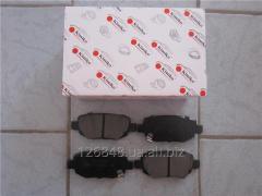 Колодки тормозные задние Chery Beat S18  S18D-3502090