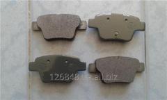 Колодки тормозные задние Geely Emgra nd EC7 1064001725