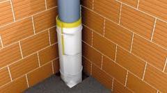Звукоизоляция канализационных труб мембраной...