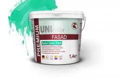 Paint acrylic UNI PREMIUM of front 14 kg