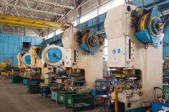 Krivoshipny press 25 t./63 t./160 t. Scissors are