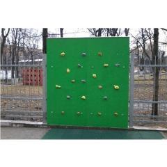 Enfants de murs d'escalade