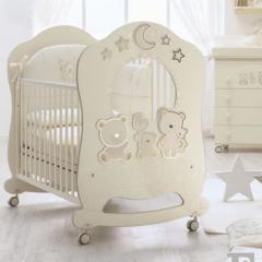 Детская кроватка Italbaby Happy Family Oblo Ivory