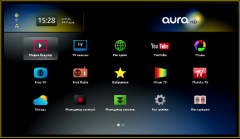 AuraHD media players