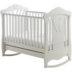 Детская кроватка Baby Italia Mimi White
