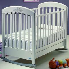 Детская кроватка Baby Italia Cinzia Lux White