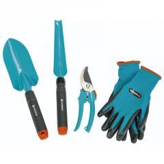 Basic set of Gardena of a hand tool