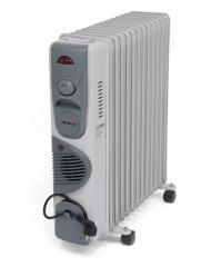 Радиатор масляный Aftron на 13 секций C вентил.