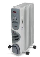 Радиатор масляный Aftron на 9 секций C вентил.