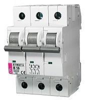 Автоматический выключатель Eti, Etimat 10 3P C 16А