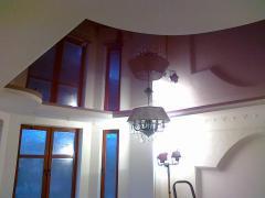 Натяжные потолки французкие