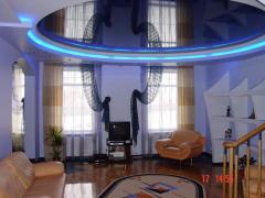 Натяжные потолки Подсветка