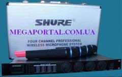 Shure SM58 LX88-III, SH-500, UT4 UHF, sm-58ii
