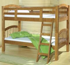 Детская двухъярусная кровать Растишка