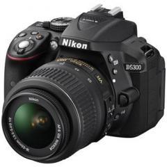 Цифровая фотокамера зеркальная Nikon D5300+Af-P