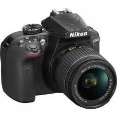 Цифровая фотокамера зеркальная Nikon D3400+Af-P