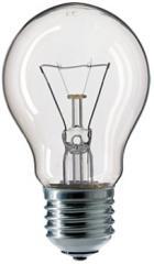 A55 CL 1CT/12X10F Stan Philips E27 40W 230V glow
