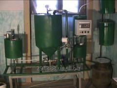 Мини оборудование для производства биодизеля.