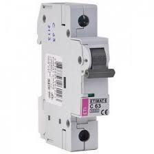 Автоматический выключатель Eti Etimat 6 1P C 63А 6 Ka