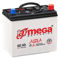 Автомобильный аккумулятор A-Mega Asia M7 6Ct-60-A3